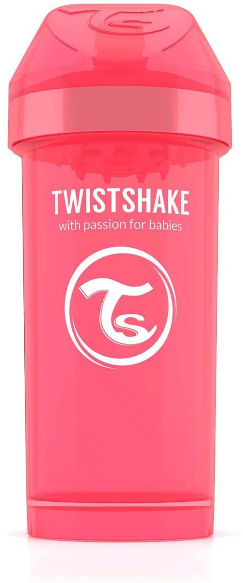 Twistshake Поильник Kid Cup Dreamcatcher цвет персиковый 360 мл -  Поильники