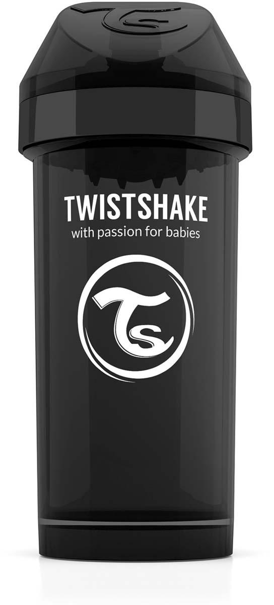 Фото Twistshake Поильник Kid Cup Superhero цвет черный 360 мл