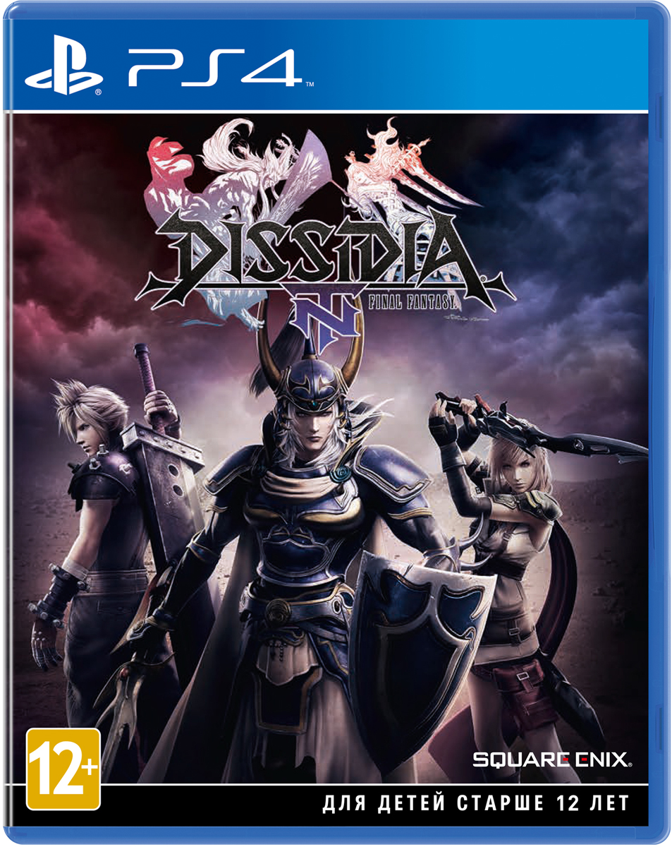 Dissidia Final Fantasy NT (PS4) final fantasy xii the zodiac age ограниченное издание steelbook ps4