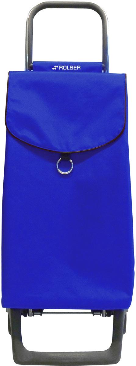 Сумка-тележка Rolser Joy, цвет: синий, 43 л. PEP001PEP001 azulТележка занимает минимальное место при хранении. Эта удобная сумка-тележка пригодится каждой хозяйке. Её мобильность и простота позволит без труда ей пользоваться. Сумка закрывается при помощи шнура, который можно затянуть. Верх защищен клапаном. Есть внутренний карман для мелочей.диаметр колес 13,2см