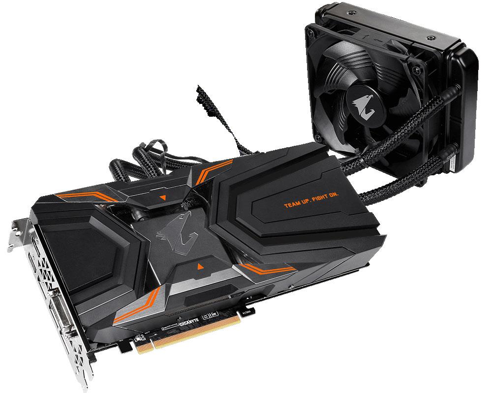 Gigabyte AORUS GeForce GTX 1080 Ti Waterforce Xtreme Edition 11GB видеокарта видеокарта gigabyte geforce gtx 750ti 2g