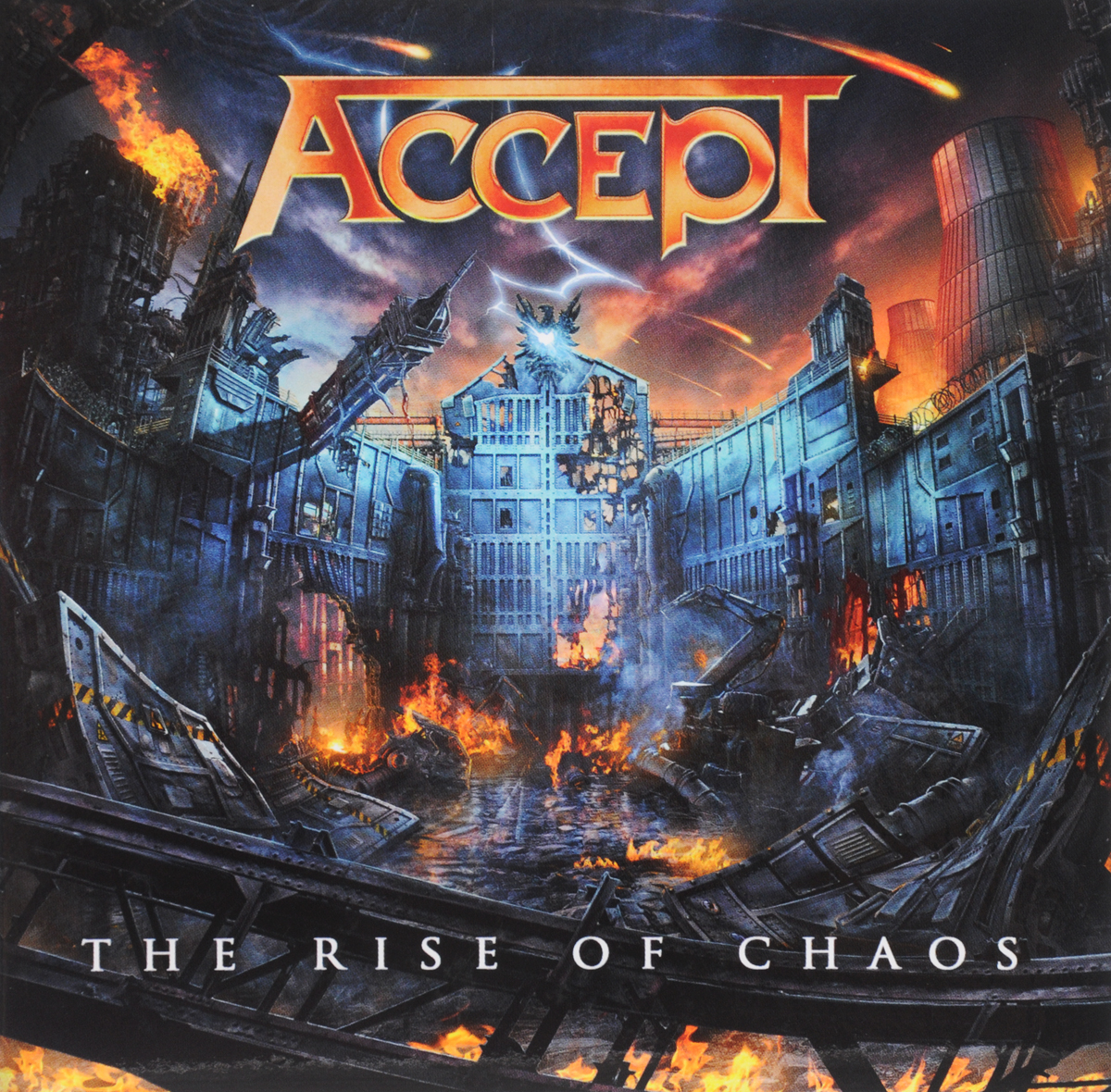 Accept Accept. Rise Of Chaos accept – the rise of chaos cd
