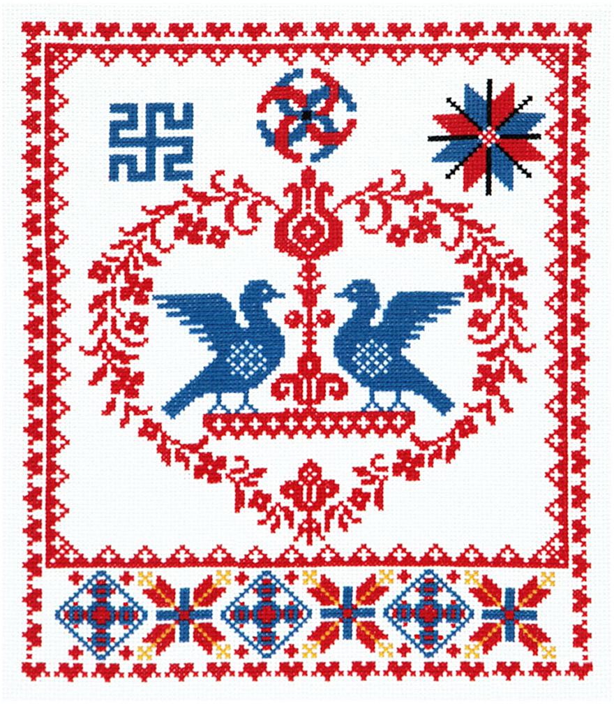 Набор для вышивания крестом Чудесная игла