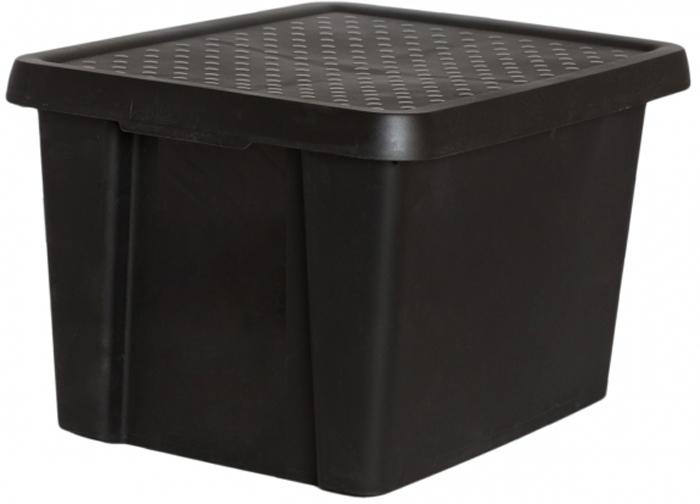 """Коробка для хранения Curver """"Essentials"""" выполнена из высококачественного пластика. Изделие оснащено крышкой и двумя эргономичными ручками  для переноски.  Коробка для хранения Curver """"Essentials"""" очень удобна и поможет вам хранить необходимые вещи в одном месте."""