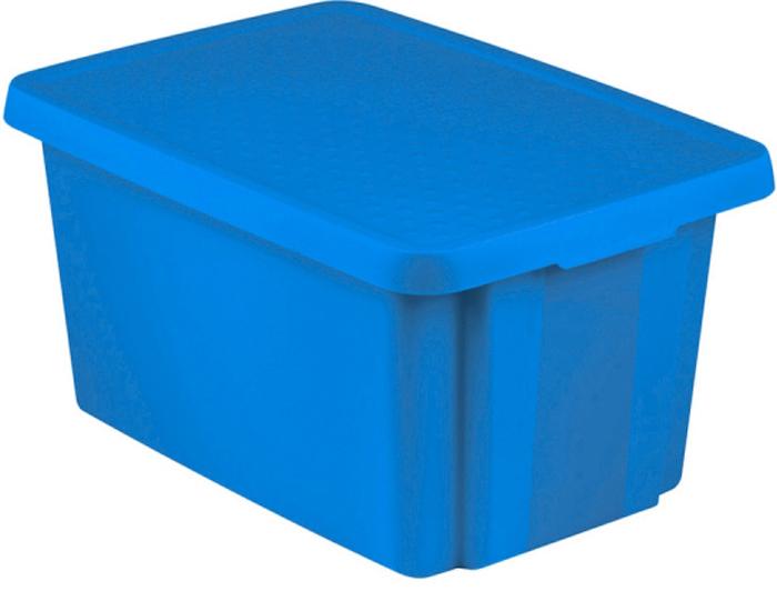 Коробка для хранения Curver Essentials, с крышкой, цвет: синий, 45 л public finance and public policy