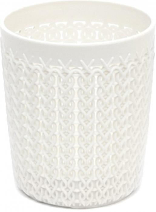 Органайзер для мелочей Curver Knit, цвет: белый, 0,6 л аксессуары для ванн munchkin органайзер для игрушек в ванной