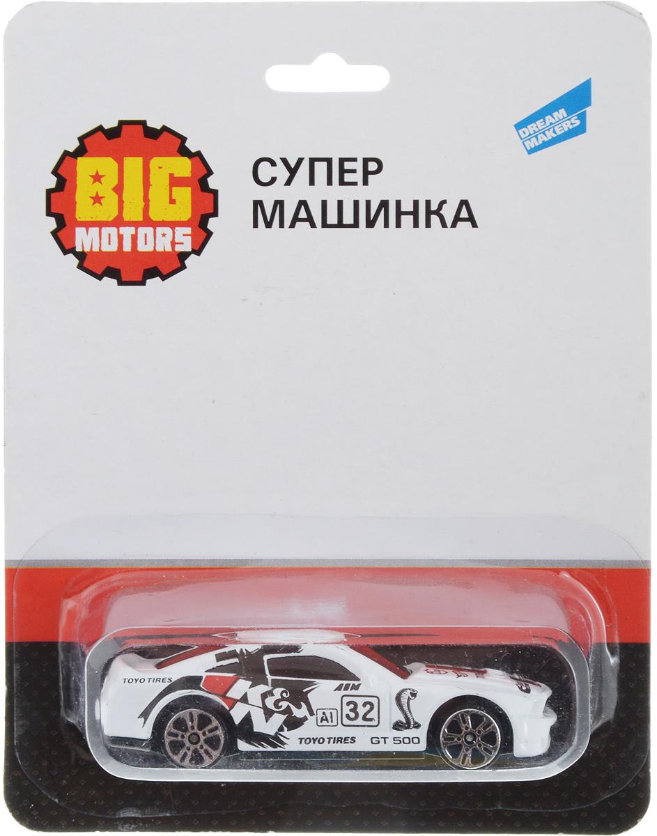 Big Motors Супер машинка цвет белый