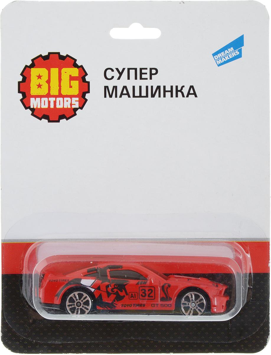 Big Motors Супер машинка цвет красный big motors мусоровоз чистюля