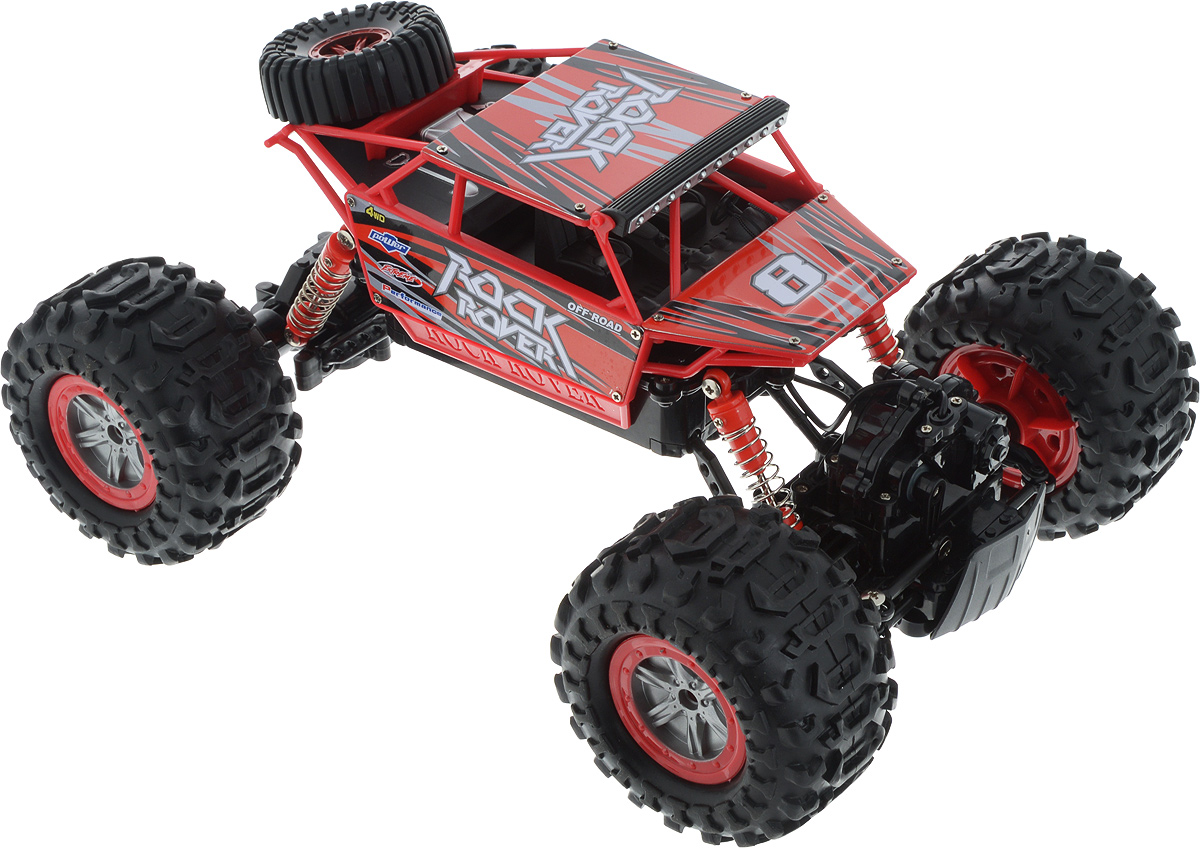 Пламенный мотор Краулер Амфибия на радиоуправлении цвет красный - Радиоуправляемые игрушки