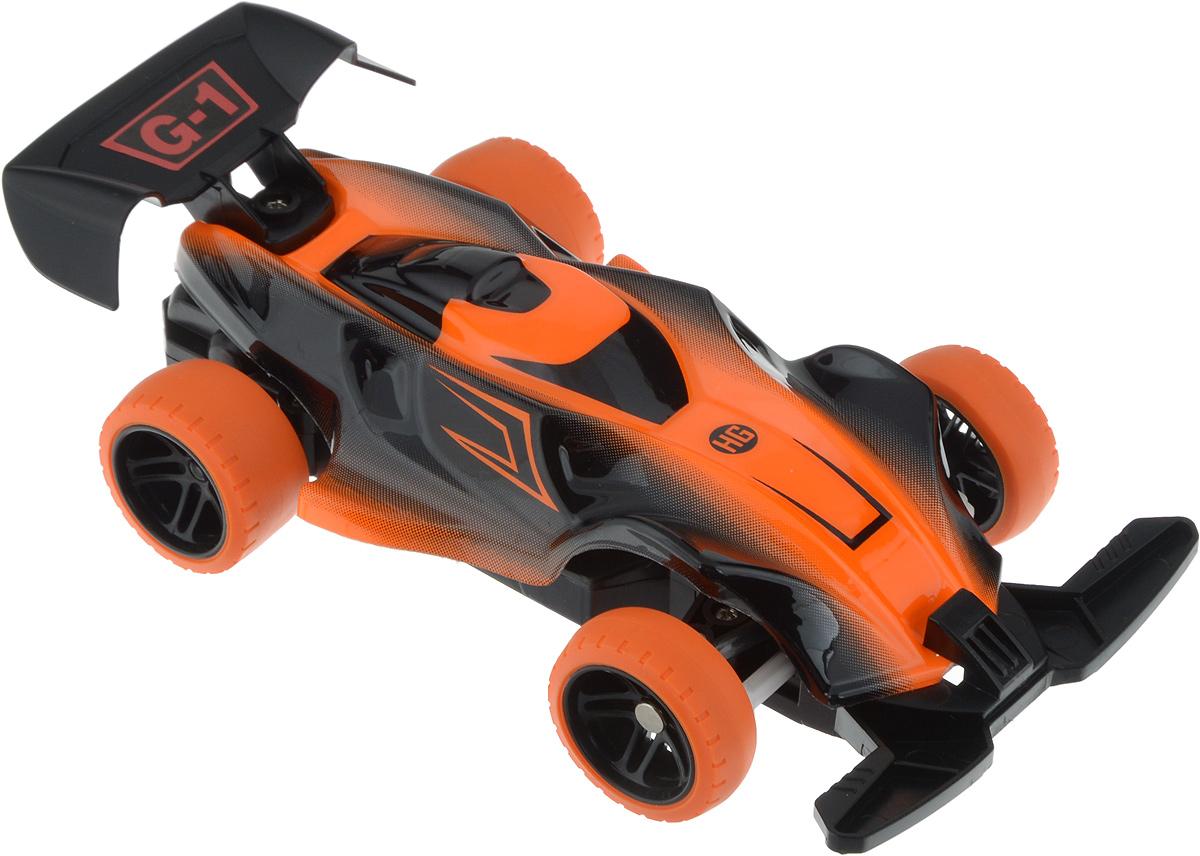 Пламенный мотор Болид на радиоуправлении цвет оранжевый