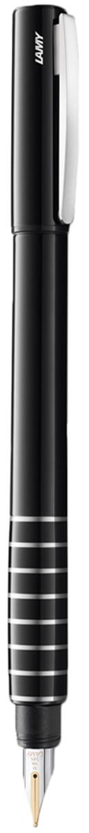 Lamy Ручка перьевая Accent цвет корпуса черный толщина F4000652Lamy Accent (098) Модель Lamy Accent отличается особенным решением секции хвата: ее немного утолщенная и удобная форма действительно является интересным и функциональным дизайнерским акцентом. При производстве используются высококлассные материалы. Навинчивающийся колпачок имеет подпружиненный клип. Корпус покрыт семью слоями черного лака бриллиантовой полировки. Хват украшен серебристыми кольцами. Золотое, частично платинированное перо 14 карат. Перьевая ручка используется с чернильными картриджами Lamy T10 или с конвертером Lamy Z27 для заправки чернилами из флакона Lamy T51 или Lamy T52 Комплектация: подарочный футляр, гарантийная карточка, буклет, конвертер Lamy Z27, чернильный картридж синего цвета Lamy T10. Дизайн: Phoenix Product Design История бренда Lamy насчитывает более 80-ти лет, а его философия заключается в слогане Дизайн. Сделано в Германии. Компания получила более 100 самых престижных дизайнерских наград. Все пишущие инструменты Lamy производятся на фабрике в Гейдельберге (Германия).