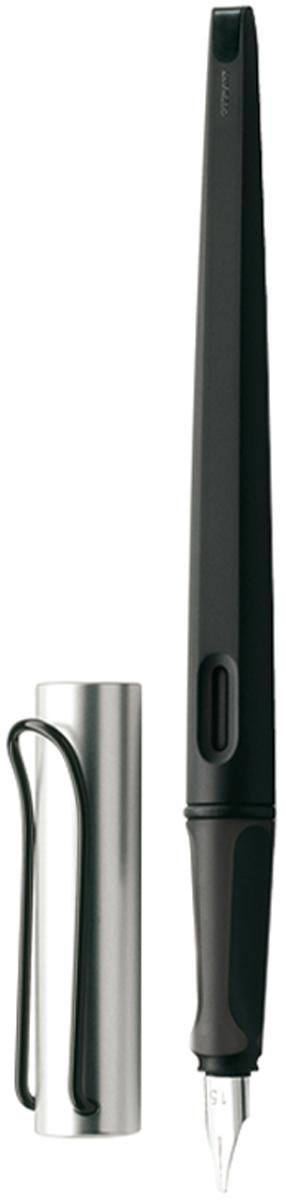 Lamy Ручка перьевая Joy цвет корпуса черный, серебристый толщина 1,1 мм