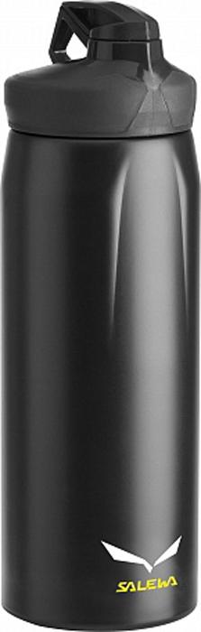 Фляга Salewa Hiker Bottle, цвет: черный, 0,5 л2316_900Универсальная прочная фляга с эргономическим дизайном и хорошими функциональными особенностями: одинарными стенками из нержавеющей стали 18/8, широким горлом для легкого мытья, отверстием для питья, которое закрывается крышкой - байонетом.- одинарные стенки- широкое горло- отверстие для питья закрывается крышкой - байонетОбъем: 0,5 л.Вес: 160 г.