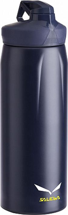 Фляга Salewa Hiker Bottle, цвет: темно-синий, 0,5 л2316_3850Универсальная прочная фляга с эргономическим дизайном и хорошими функциональными особенностями: одинарными стенками из нержавеющей стали 18/8, широким горлом для легкого мытья, отверстием для питья, которое закрывается крышкой - байонетом.- одинарные стенки- широкое горло- отверстие для питья закрывается крышкой - байонетОбъем: 0,5 лВес: 160 г.