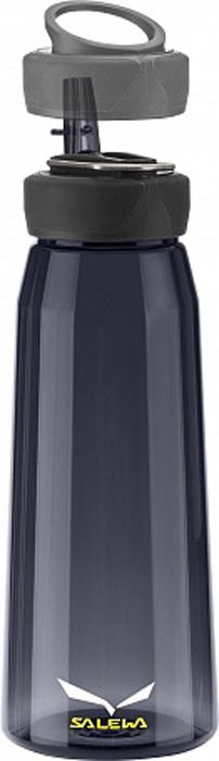 Фляга Salewa Runner Bottle, цвет: темно-синий, 0,5 л2322_3850Спортивная фляга Runner Bottle для тех, кто ведет активный образ жизни. Изготовлена из тритана, который не содержит вредных веществ. Широкое горлышко изделия позволит с легкостью наполнять и мыть флягу. Питьевое отверстие соединяется с трубкой, которая с легкостью закрывается. Крышка оснащена держателем, за который флягу можно подвесить на рюкзак или ремень.Объем: 0,5 л Вес: 115 г Материал: тритан. Тритан - это прочный, прозрачный материал, который прошел научные тестирования и был признанным одним из лучших материалов для использования в медицинской промышленности.