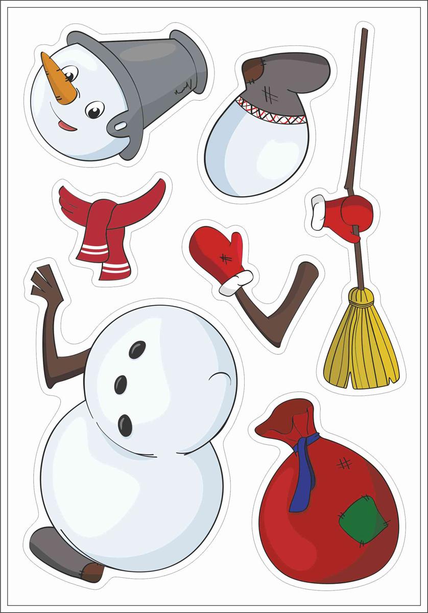 Магнит мягкий Стрекоза Снеговичок8601Мягкий магнит Снеговичок станет красочным новогодним подарком. Сувенир обязательно понравится деткам от 3 лет! Снеговичка можно собрать, прилепив на холодильник или магнитную доску. Как здорово! В набор магнитов Снеговичок входит 7 магнитных частей. Этот набор замечательно дополнит набор Елочка и Снегурочка, Елочка, Дед Мороз .