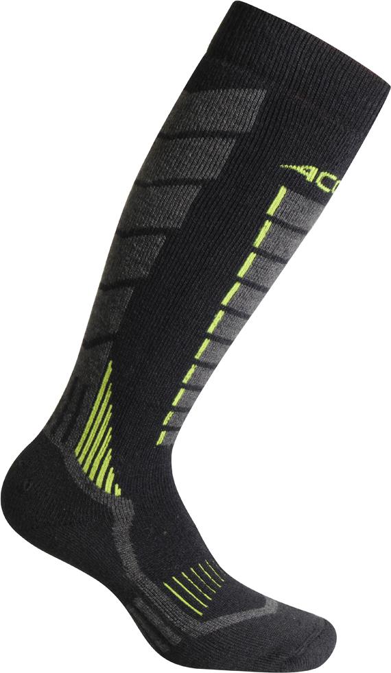 Термоноски Accapi Snowboard, цвет: серый. 1602_999. Размер 39/411602_999Сноубордические носки отлично подходят для катания в суровых погодных условиях. Утеплены нитью Thermolite, хорошо отводят влагу, оберегают от переохлаждения и компрессий.