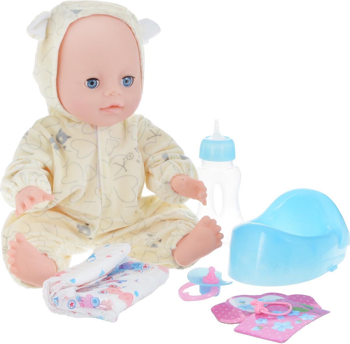 Lisa Jane Пупс с горшком цвет светло-молочный 35 см сумки lisa jane сумка детская