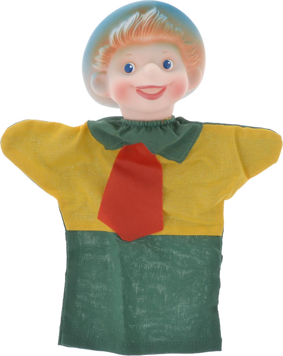 Sima-land Мягкая игрушка на руку Незнайка цвет зеленый желтый красный чайник заварочный sima land риштан цвет синий белый зеленый 400 мл