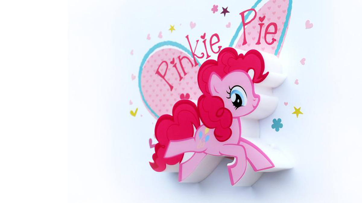 3DLightFX Настенный 3D cветильник MLP Mini Pinky Pie