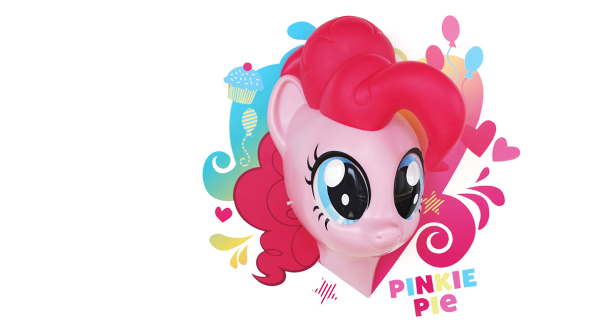 3DLightFX Настенный 3D cветильник MLP Pinkie Pie светильник декоративный 3dlightfx sw darth vader saber 3d