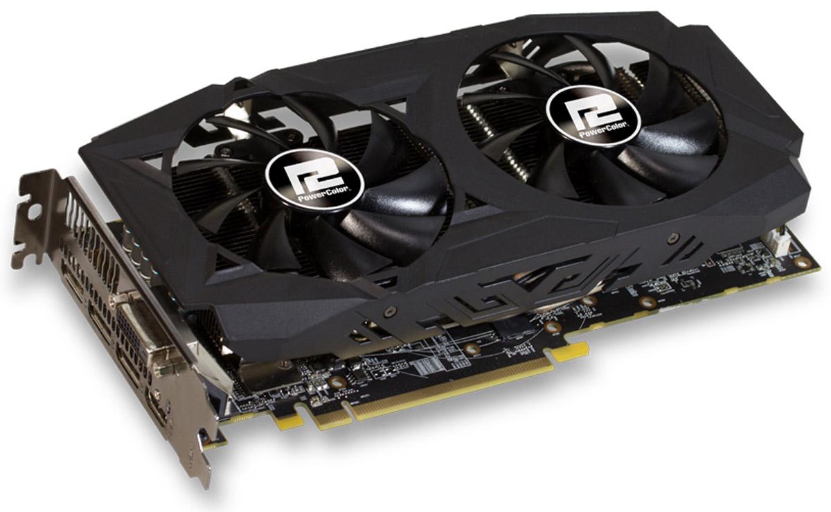 PowerColor Red Dragon Radeon RX 580 OC V2 8GB видеокарта AXRX 580 8GBD5-3DHDV2/OC