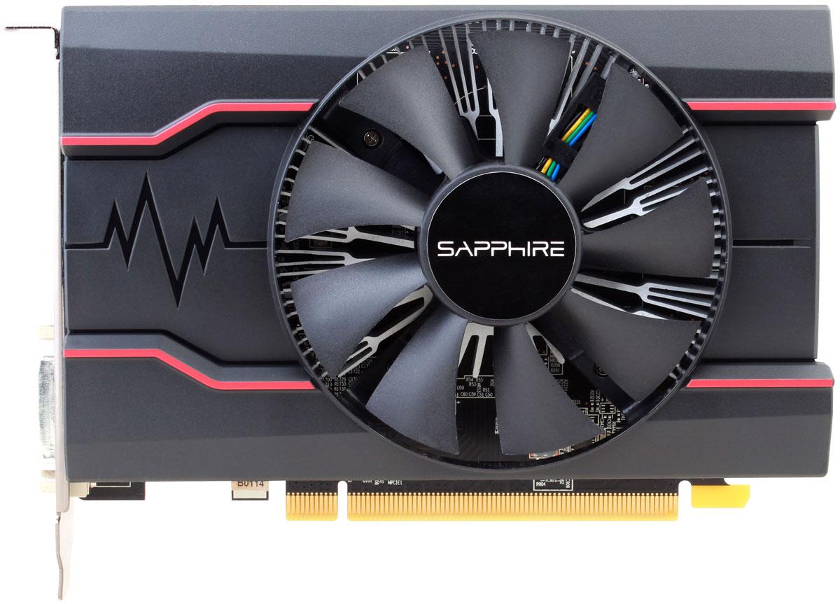 Sapphire Pulse Radeon RX 550 2GB видеокарта11268-16-20GSapphire Pulse Radeon RX 550 - компактная, но в тоже время мощная видеокарта на базе архитектуры Polaris.Технология Frame Rate Target Control (FRTC) позволяет настраивать количество кадров в секунду в реальном времени. Эта функция уменьшает потребление графического процессора (полезно для игр, в которых частота кадров намного превышает частоту обновления дисплея), соответственно уменьшая тепловыделение и обороты вентилятора, что дополнительно уменьшает шум видеокарты.Управление частотой кадров ограничивает производительность не только в 3D-сценах, но и в экранных заставках, экранах загрузки и меню, где частота кадров достигает сотен кадров в секунду зачастую без какой-либо необходимости. Пользователи могут установить максимальный уровень ограничения, чтобы избежать нерациональных значений частоты кадров, встречающихся, например, в меню, и при этом извлечь выгоду из времени отклика при частоте свыше 60 кадров в секунду.Технология AMD FreeSync позволяет совместимым видеокарте и монитору динамически менять FPS для достижения идеальной картинки. Она использует возможности стандартного протокола DisplayPort Adaptive-Sync для получения плавной смены кадров на мониторе без артефактов и задержек с максимально возможной производительностью и комфортом.AMD Eyefinity представляет собой технологию, благодаря которой изображение с одной видеокарты можно вывести на несколько экранов. Это сделает игровой процесс более захватывающим, а рабочий процесс более удобным и эффективным (в среднем 42% и больше в некоторых сценариях).Технология AMD Crossfire предназначена для создания мощных игровых станций с несколькими видеокартами. Она позволяет использовать в одной связке 2 и более видеокарт для достижения высочайшей производительности ПК. AMD Crossfire работает для видеокарт разных ценовых диапазонов. Гибкая настройка позволяет выбирать, сколько видеокарт - две, три или четыре - объединить для создания идеальной системы.Поддержка р