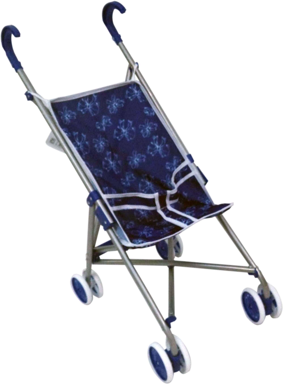 1TOY Транспорт для кукол Коляска цвет синий 1toy транспорт для кукол коляска цвет синий