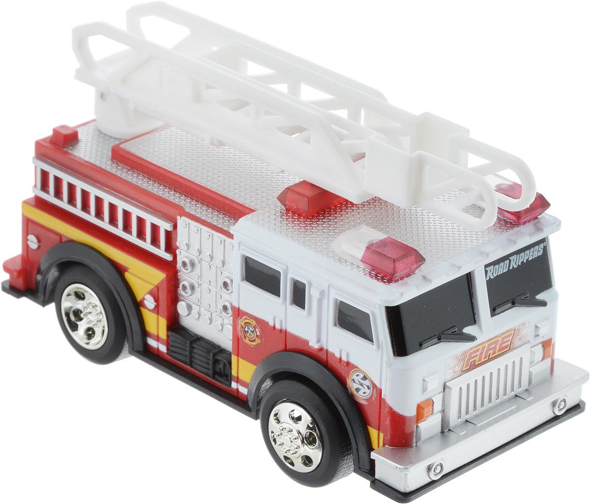 Toystate Машина Спецслужба Пожарная toystate машина с мотоциклом квадроциклом на прицепе цвет красный