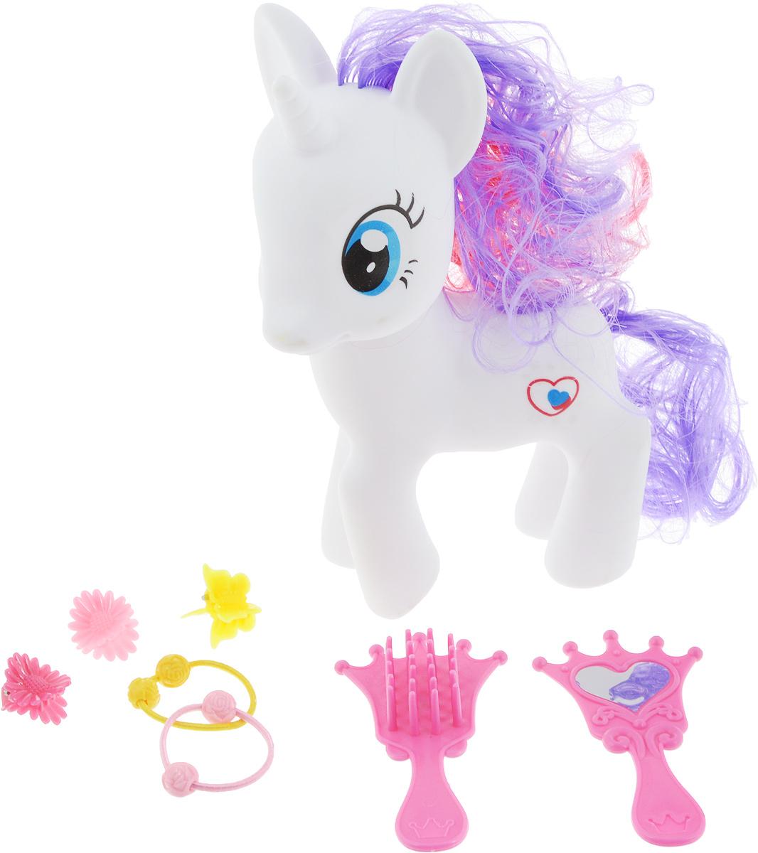 Карапуз Игровой набор Пони цвет белый карапуз любимый пони