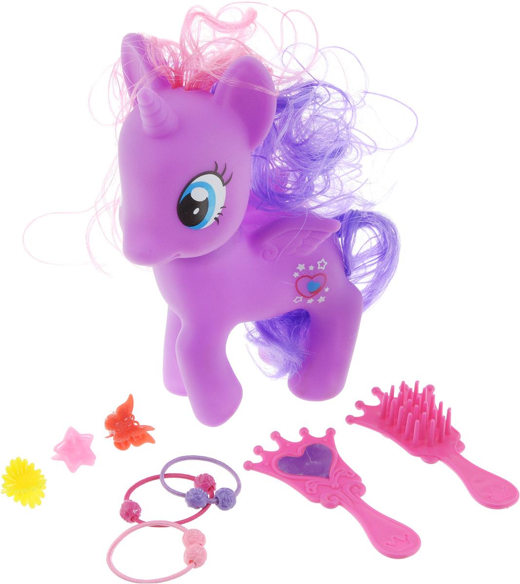 Карапуз Игровой набор Пони цвет фиолетовый карапуз любимый пони