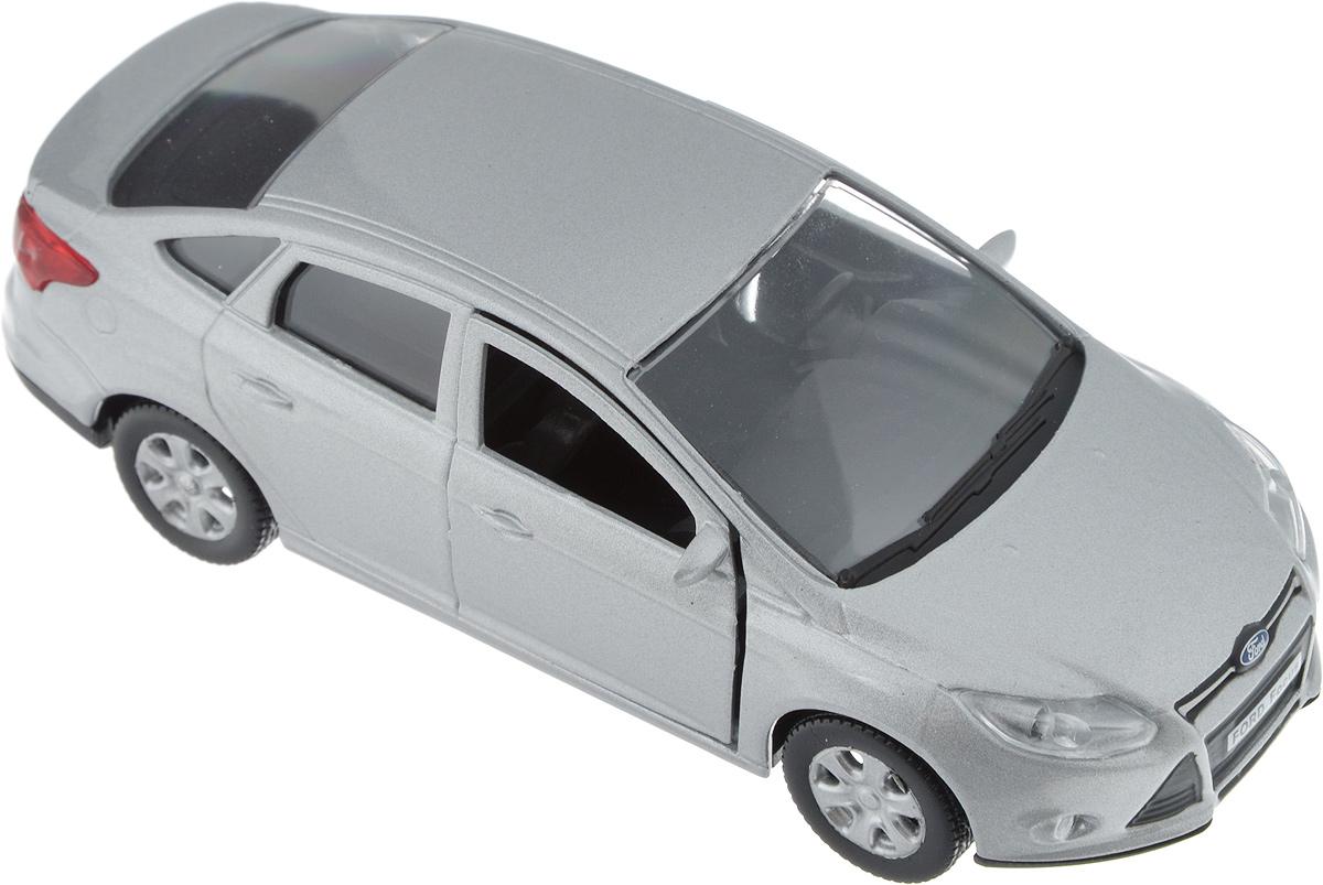 Autotime Модель автомобиля Ford Focus цвет серебристый autotime модель автомобиля maz 5335 техпомощь