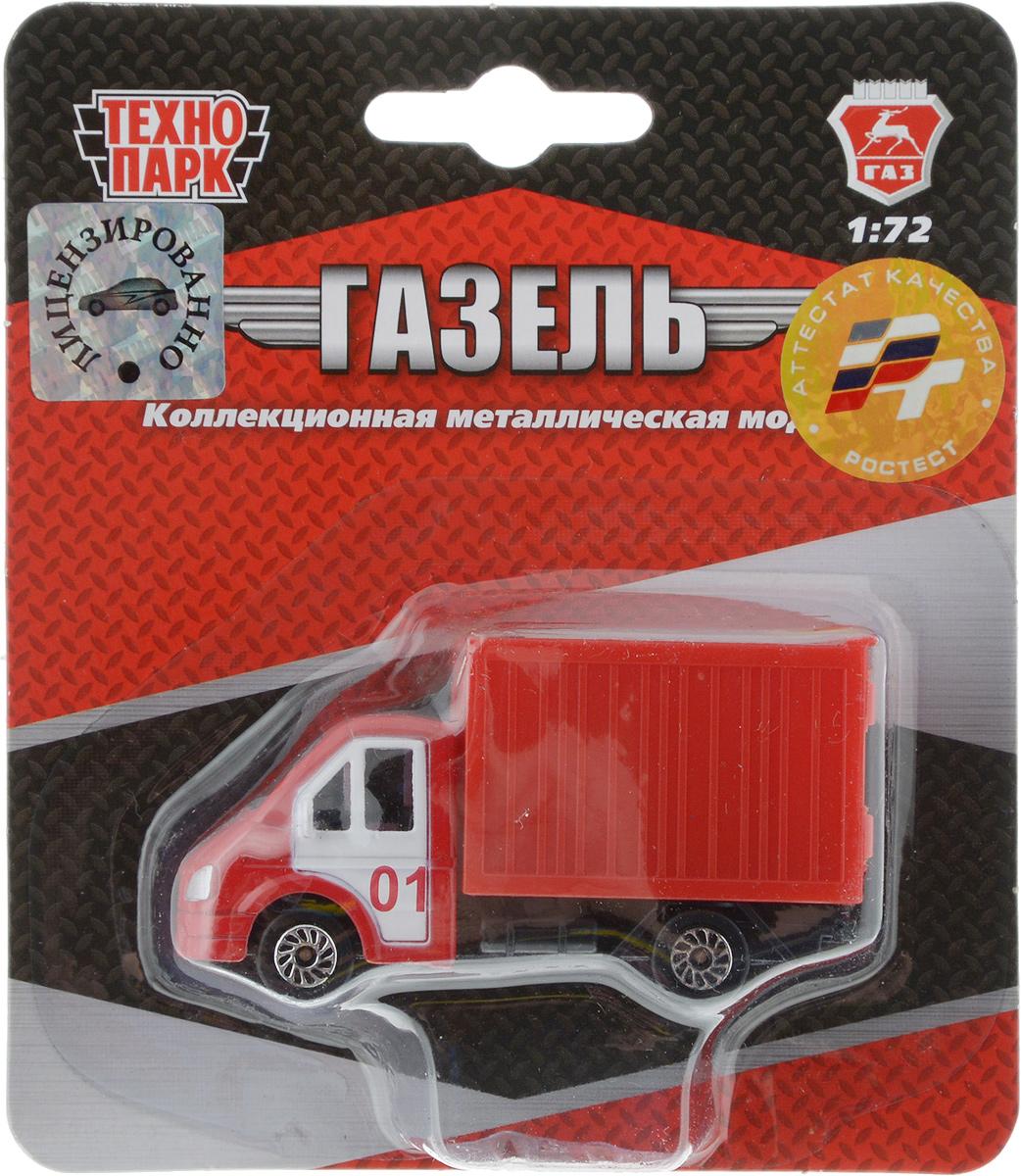 ТехноПарк Модель автомобиля Газель пожарная технопарк пожарная машина со светом и звуком технопарк