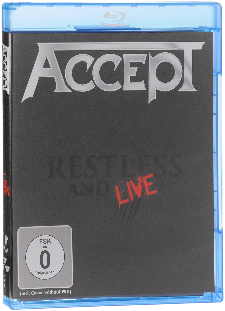 Accept: Restless and Live (Blu-ray)