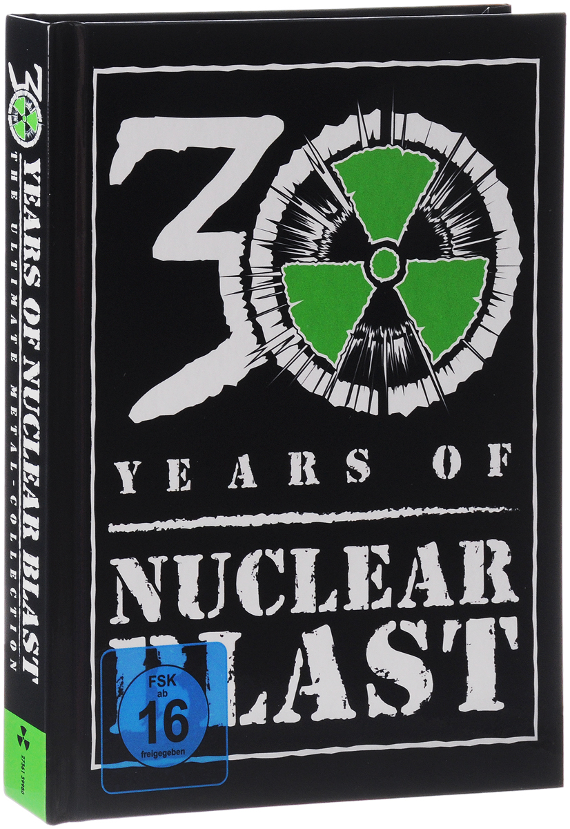 VARIOUS ARTISTS Nuclear Blast 30 Years anniversary 4CD+DVD Box
