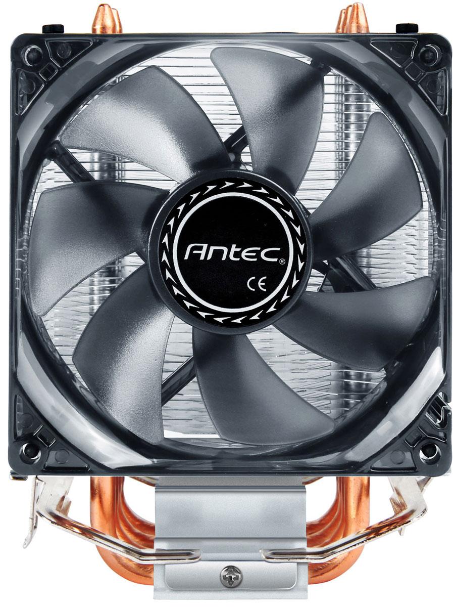 Antec A40 PRO система охлаждения для процессора0-761345-10923-9Победите тепло, которое генерирует процессор, и добейтесь более эффективной работы с помощью кулера Antec A40 Pro. Конструкция A40 Pro обеспечивает его совместимость с гнездами ведущих процессоров для настольных ПК от Intel и AMD. Этот высокоэффективный кулер для ЦП имеет исключительно тихий вентилятор, который направляет воздушный поток вниз, обеспечивая охлаждение и для ЦП, и для чипсета, а также имеет 4 тепловые трубки для максимальной теплопередачи.