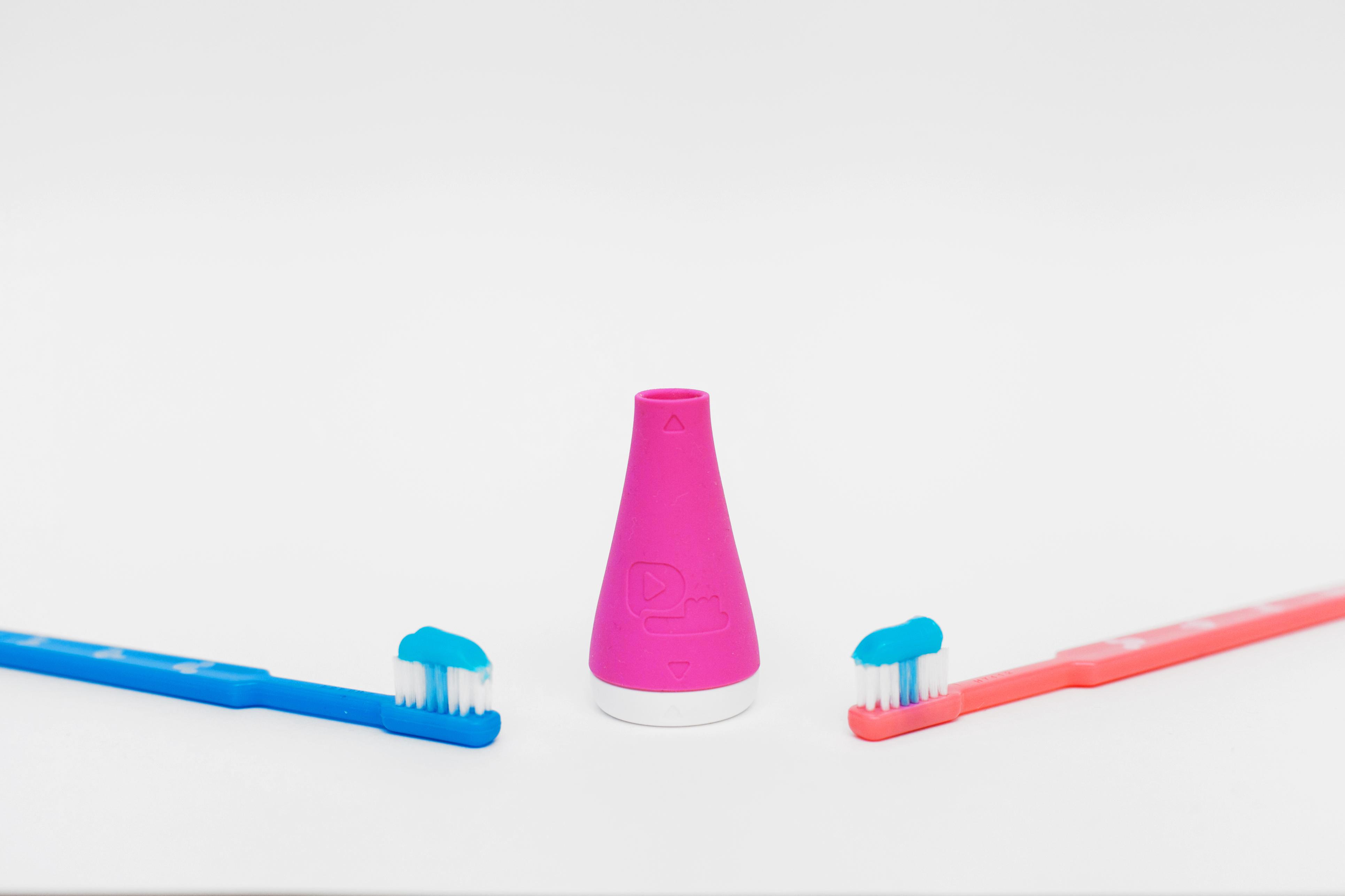 SmilepodИгрозуб Princess, Pink детский обучающий набор для чистки зубов Smilepod