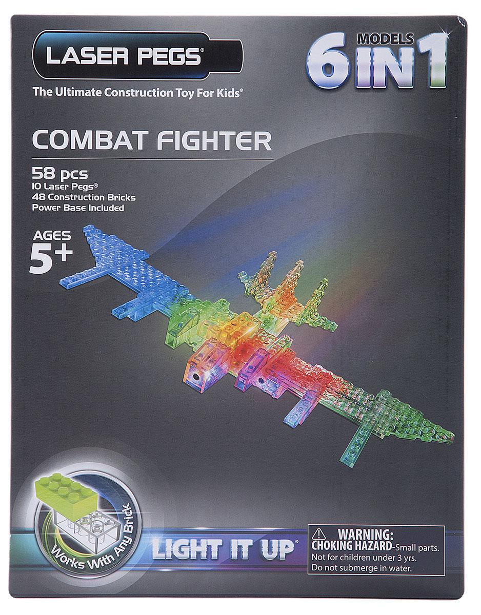 Laser Pegs Конструктор Воздушный транспорт 6 в 1 laser pegs конструктор динозавры 24 в 1