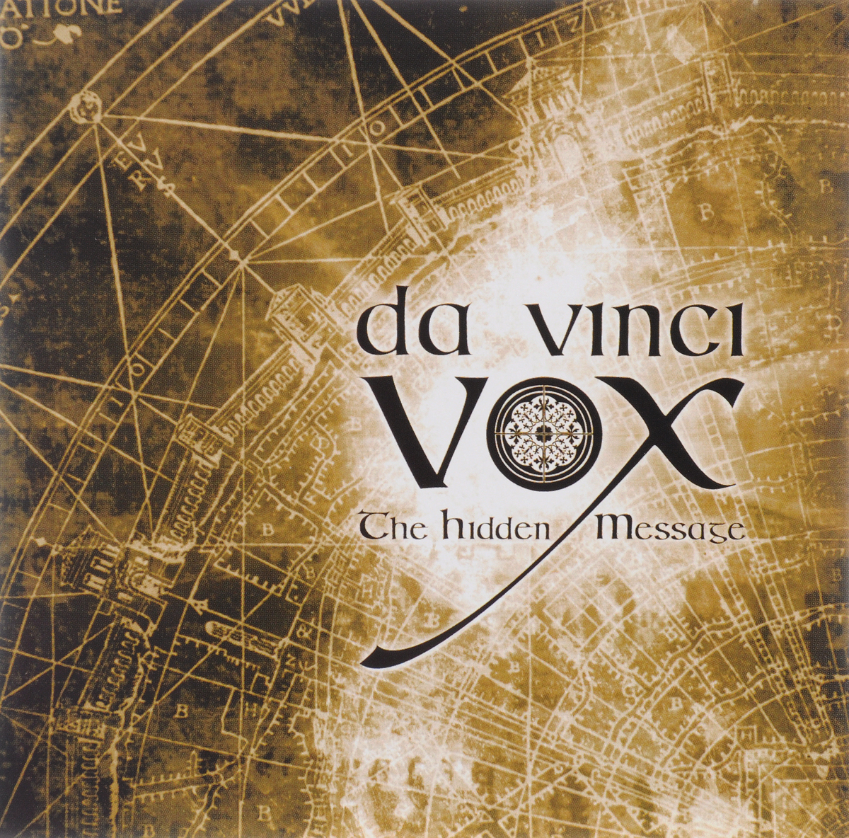 Da Vinci Vox DA VINCI VOX. THE HIDDEN MESSAGE leonardo da vinci мост поворотный модель d 014