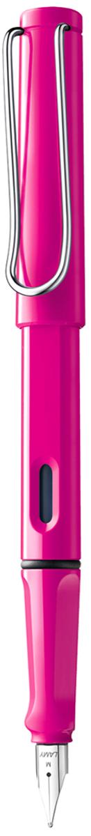 Lamy Ручка перьевая Safari синяя цвет корпуса розовый толщина F - Письменные принадлежности - Ручки