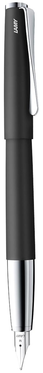 Lamy Ручка перьевая Studio цвет корпуса черный толщина F 4000448 lamy joy комплект ручка перьевая 015 запасные перья картридж цвет корпуса черный красный
