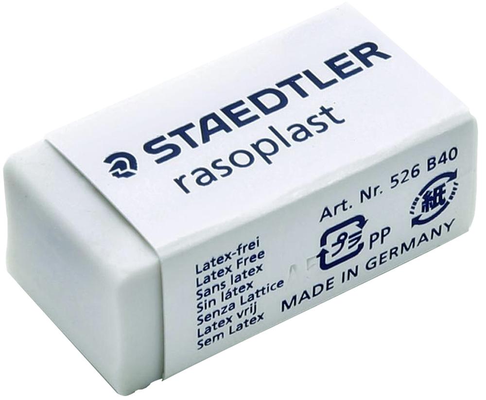 Staedtler Ластик Rasoplast цвет белый