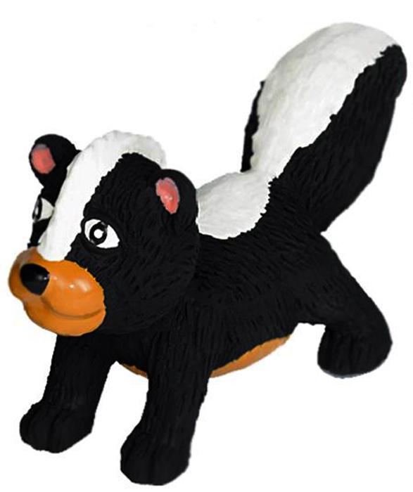 Игрушка для собак Nobby Скунс, длина 14 см67031Игрушка для собак Nobby Скунс изготовлена из латекса, устойчивого к повреждениям. Игрушка поможет занять щенка во время смены зубов, а расшалившаяся взрослая собака не будет грызть мебель, обувь и другие нужные вещи. Игрушка оснащена пищалкой, что вызовет дополнительный интерес вашего питомца. Такая игрушка порадует вашего любимца, а вам доставит массу положительных эмоций, ведь наблюдать за игрой всегда интересно и приятно.
