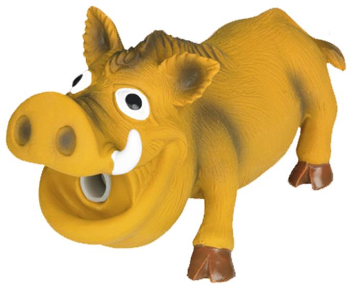 Игрушка для животных Nobby Кабанчик, 17 х 9,5 см,67014Игрушка из латекса с хрюкалкой.