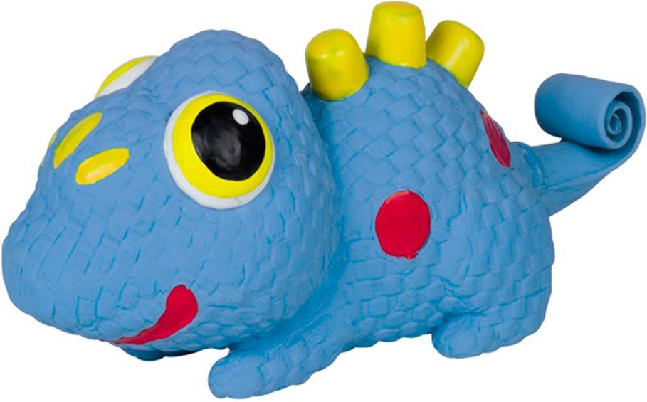 Игрушка для животных Nobby Динозаврик, 16 см60445Игрушка из латекса с пищалкой. Свернутый хвост забавно выпремляеться при сжатии игрушки.