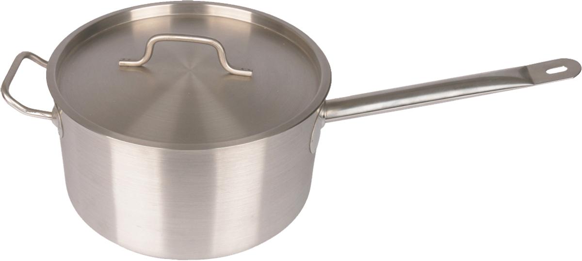Сотейник Appetite Общепит. Professional, 8 л. SH128027726Сотейник Appetite Общепит. Professional выполнен из нержавеющей стали с металлической крышкой. Подходит для всех типов плит, в том числе индукционных.