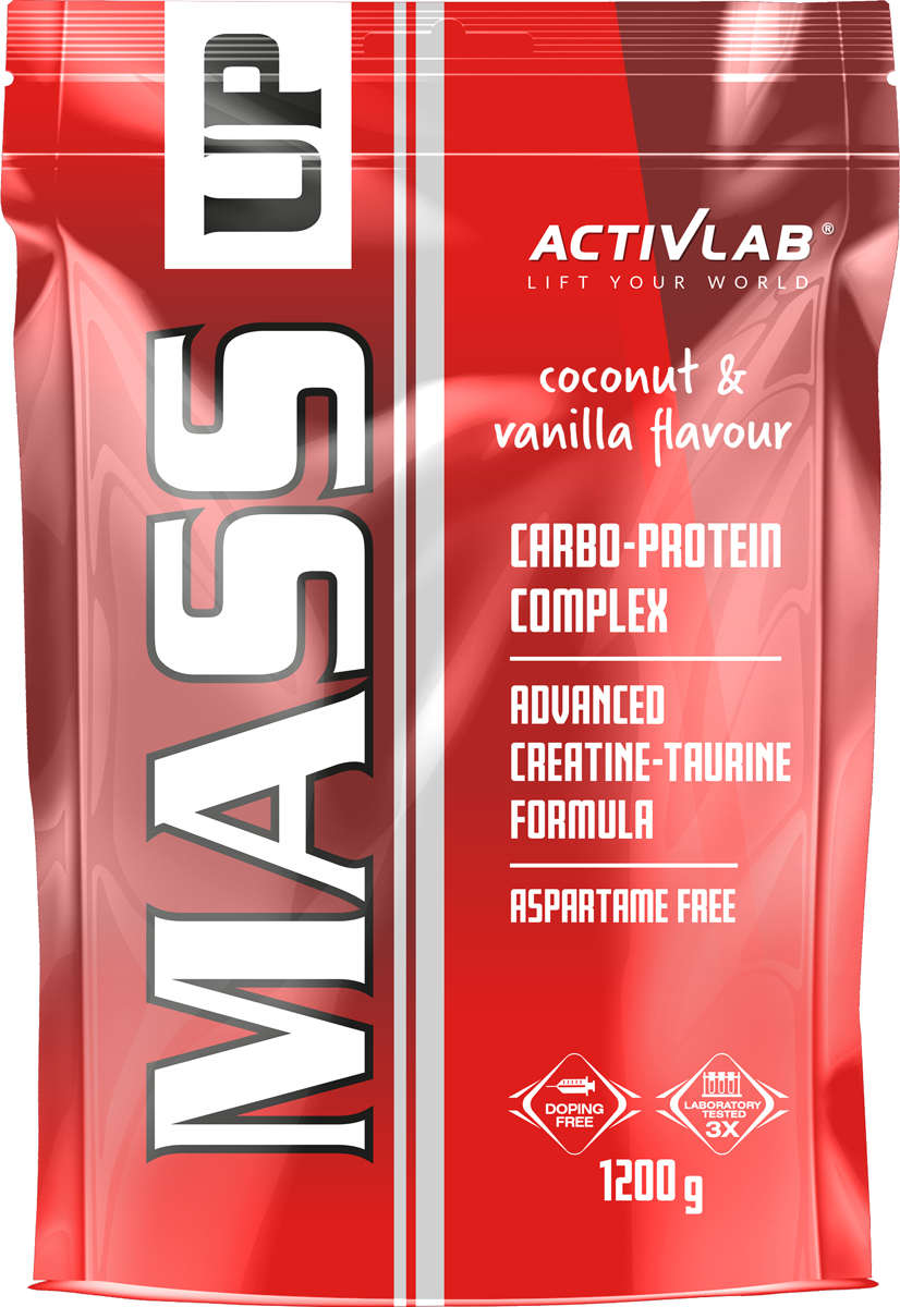 "Гейнер ActivLab ""Mass Up"", кокос и ваниль, 1,2 кг"