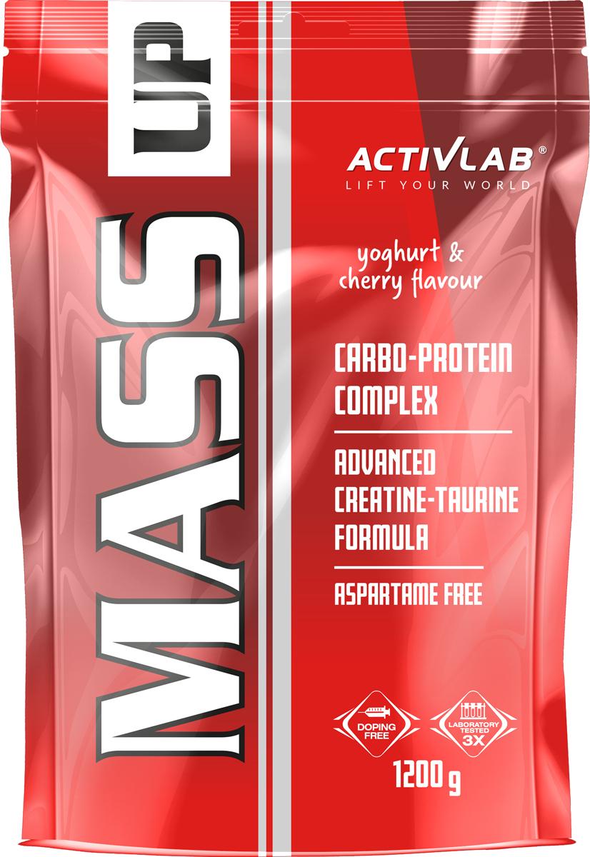 Mass UP - гейнер с высоким содержанием углеводов для людей которые имеют худое телосложение и для которых набор массы весьма затруднителен. Данный продукт имеет высокую энергетическую ценность, его состав обогащен креатином, содержит анаболические аминокислоты таурин, L-аланин, L-аргинин, аспарагиновую кислоту, L-глютамин, полный комплекс заменимых и незаменимых аминокислот BCAA. Белковую основу гейнера Масс Ап Актвилаб составляет сывороточный концентрата который занимает всего 10-ю долю из общей сухой массы продукта.   Применение гейнера Mass UP способствует набору общей массы, существенно повышает энергетический уровень спортсмена, наличие в нем креатина и других анаболических аминокислот существенно повышает силовые показатели и общую физическую выносливость.   Прием гейнера может быть полезен как в период набора массы в бодибилдинге, так и в качестве энергетика (карбо, изотоника) для энергетической подпитки и быстрого восстановления организма в любом другом виде спорта.     Как повысить эффективность тренировок с помощью спортивного питания? Статья OZON Гид