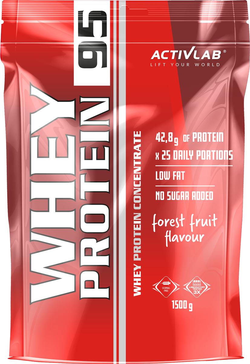 Whey 95 представляет собой концентрат сывороточного белка, который обогащен высоким содержанием ВСАА, L-аргинина и L-глютамина. Whey 95 от ведущей польской компании ActivLab, является идеальным аминокислотным источником для интенсивного роста Ваших мышц. Важно: содержание в данном продукте анаболических аминокислот составляет более 45%. Размер порции: 30гр Количество порций в упаковке: 23 ActivLab Whey 95 не содержит ни углеводов, ни жиров, поэтому его можно использовать как профессиональным атлетам и любителям фитнеса, целью которых является интенсивный набор сухой мышечной массы, так и тем спортсменам, которые на низкоуглеводной диете. С приемом каждой порции данного продукта Вы получаете весь необходимый набор заменимых и незаменимых аминокислот, непревзойденный вкус, что приводит к хорошим результатам и хорошего настроения.    Как повысить эффективность тренировок с помощью спортивного питания? Статья OZON Гид