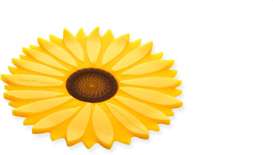 Подставка Charles Viancin Sunflower1160Подставка под горячее защитит любую рабочую поверхность от горячей посуды. Можно использовать под ложку во время приготовления блюд, ирабочая поверхность останется чистой.